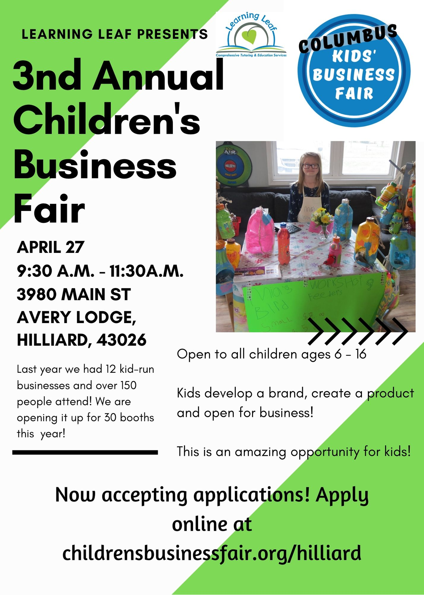 Kids Business Fair - Hilliard